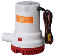 24V SEAFLO 2000 GPH Submersible Electric Bilge Pump