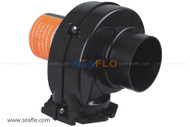 "SEAFLO 12V 3"" Flange Mount Bilge Air Blower 130CFM"