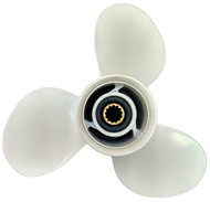 11 1/8x13-G Aluminum Outboard Propeller for Yamaha 30-60 HP