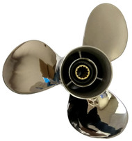 11 1/8x13-G Stainless Steel Outboard Propeller for Yamaha 40-60HP