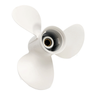 9 7/8x12-F Aluminum Outboard Propeller for Yamaha 20-30 HP