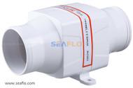 """SEAFLO 3"""" In-Line Blower 12V 130 CFM"""