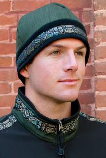 ARCTIC HAT / (Hybrid) / Black, Fjord, / Totem-Tan (trim)