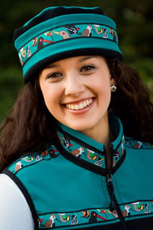 AURORA HAT / (Softshell) / Teal, Black,  / Alaska Chatter-Teal (trim)