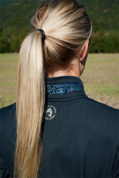 Borealis jacket - Back view