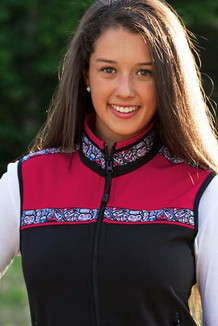 WOMEN'S KODIAK VEST / (Softshell) /   Black, Ruby, / Totem-Brite (trim)