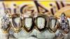 ChiGrillz Diamond Grillz Style-Ys0703 6 Cap Goldteeth Openface 20 diamonds