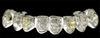 Style-0462 8 white gold caps with 26-2pt round yellow stones, 44-2pt round stones and 2-8pt round stones 1610