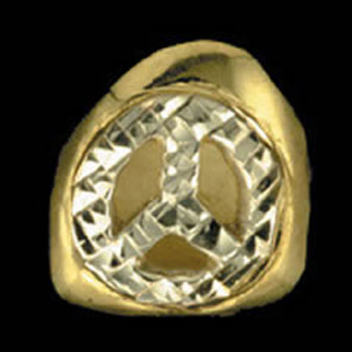 ChiGrillz Diamond Cut Grillz Style-0097 One Cap Gold Tooth Diamond Cut Grills Cut out Benz