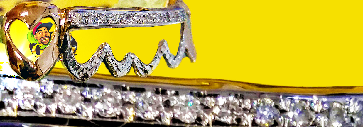Chigrillz certificate of authenticity 100% we use the finest quality stones and metals.  Our grills are rea gold and custom made.