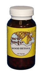 WOOD BETONY  100 Vegicaps