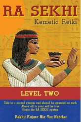 Kemetic Reiki Level 2, the second in a three part training manual series, is for those who have taken the time to develop themselves in the basic precepts of Kemetic Reiki Level 1 and now want to use those skills to heal others. The reader learns to use elemental therapy and tools to gain a basic understanding of crystals and pendulum uses from an African perspective. The advance methods of healing that are introduced include group healing, distance healing, Kemetic prayers, affirmations and more.