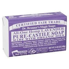 DR. BRONNER'S LAVENDER BAR SOAP