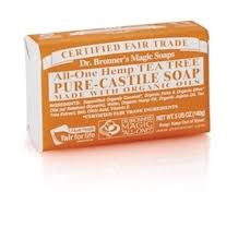 Dr. Bronner's Tea Tree Bar Soap