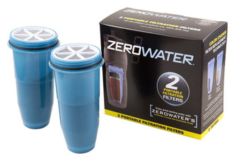 ZEROWTR BOTTLE FLTR 2PK by ZEROWATER
