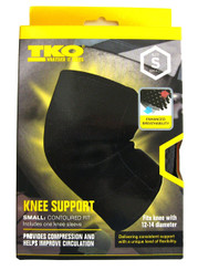 TKO Knee Support Contoured Fit, Small (For Knee with 12-14 diameter)