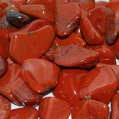 Red Jasper for energizing, renewal, vigor, security