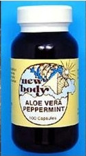 ALOE VERA / PEPPERMINT Herbal Formula 100 Vegicaps