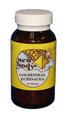 GOLDENSEAL & ECHINACEA Herbal Formula 100 Vegicaps