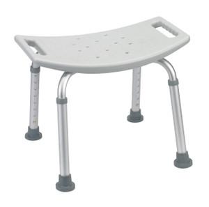 Bathroom Safety Shower Tub Bench Chair, Gray