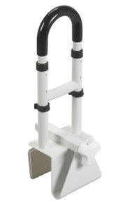 Adjustable Height Bathtub Grab Bar Safety Rail
