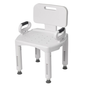 Premium Series Shower Chair with Back and Arms