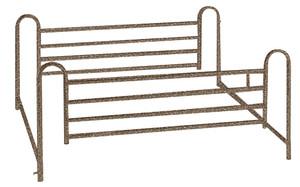 Full Length Hospital Bed Side Rails, 1 Pair