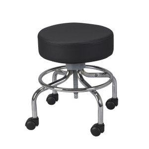 Wheeled Round Stool