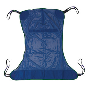 Full Body Patient Lift Sling, Mesh, Large