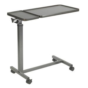 Multi-Purpose Tilt-Top Split Overbed Table