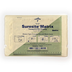 Suresite Transparent Film Dressing, 8 in x 12 in