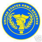 STICKER US ARMY VET RESERVES SHIELD
