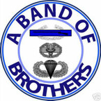 STICKER US ARMY VET BAND OF BROTHERS SPECIAL FORCE