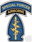 STICKER US ARMY UNIT SPECIAL FORCES GROUP