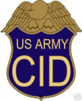 STICKER US ARMY UNIT CID SHIELD COLOR1