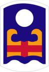 STICKER US ARMY UNIT 92nd Infantry Brigade SHIELD COL