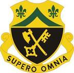 STICKER US ARMY UNIT 81ST Armor Regiment