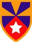 STICKER US ARMY UNIT 7th Support Brigade SHIELD