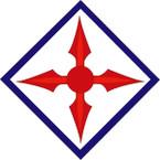 STICKER US ARMY UNIT 77th Aviation Brigade SHIELD