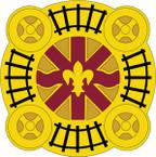 STICKER US ARMY UNIT 766th Transportation Battalion CREST