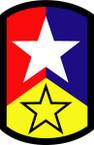 STICKER US ARMY UNIT 72nd Infantry Brigade SHIELD