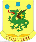 STICKER US ARMY UNIT 72nd Armor Regiment