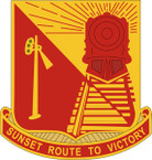 STICKER US ARMY UNIT 719th Transportation Battalion CREST