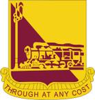 STICKER US ARMY UNIT 714th Transportation Battalion CREST