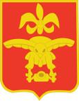 STICKER US ARMY UNIT 676th Glider Field Artillery Battalion SHIELD