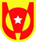 STICKER US ARMY UNIT 5th Transportation Brigade SHIELD