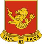 STICKER US ARMY UNIT 5th Battalion - 25th Field Artillery Regiment Crest