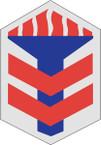 STICKER US ARMY UNIT 5th Armored Brigade SHIELD