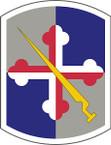 STICKER US ARMY UNIT 58th Infantry Brigade