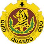 STICKER US ARMY UNIT 519 Transportation Battalion CREST